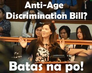 Anti Age Discrimination Bill Pia Cayetano