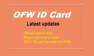 Get The iDOLE OFW ID Card