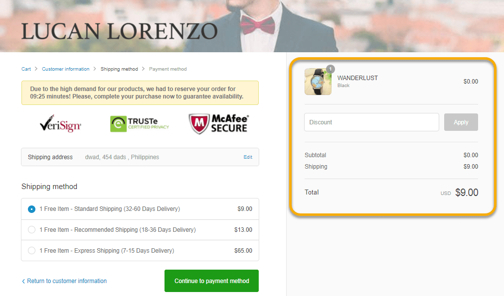 lucan lorenzo online selling strategy