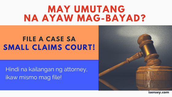 small claims court rules and procedures