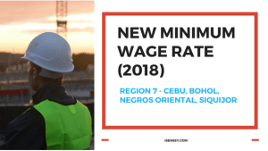new minimum wage rate region 7