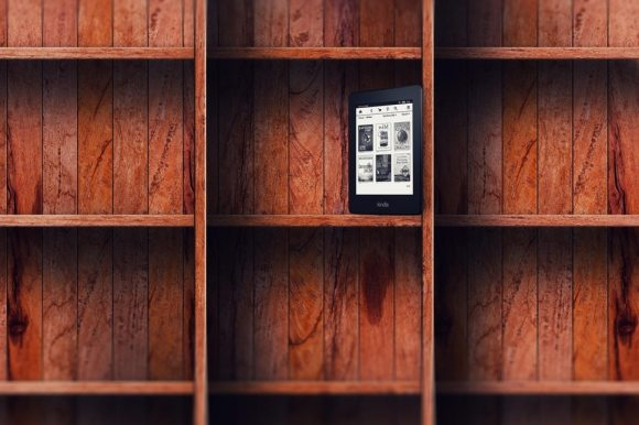 kindle bookshelf