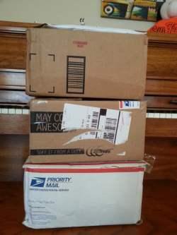 Delivered Kindles