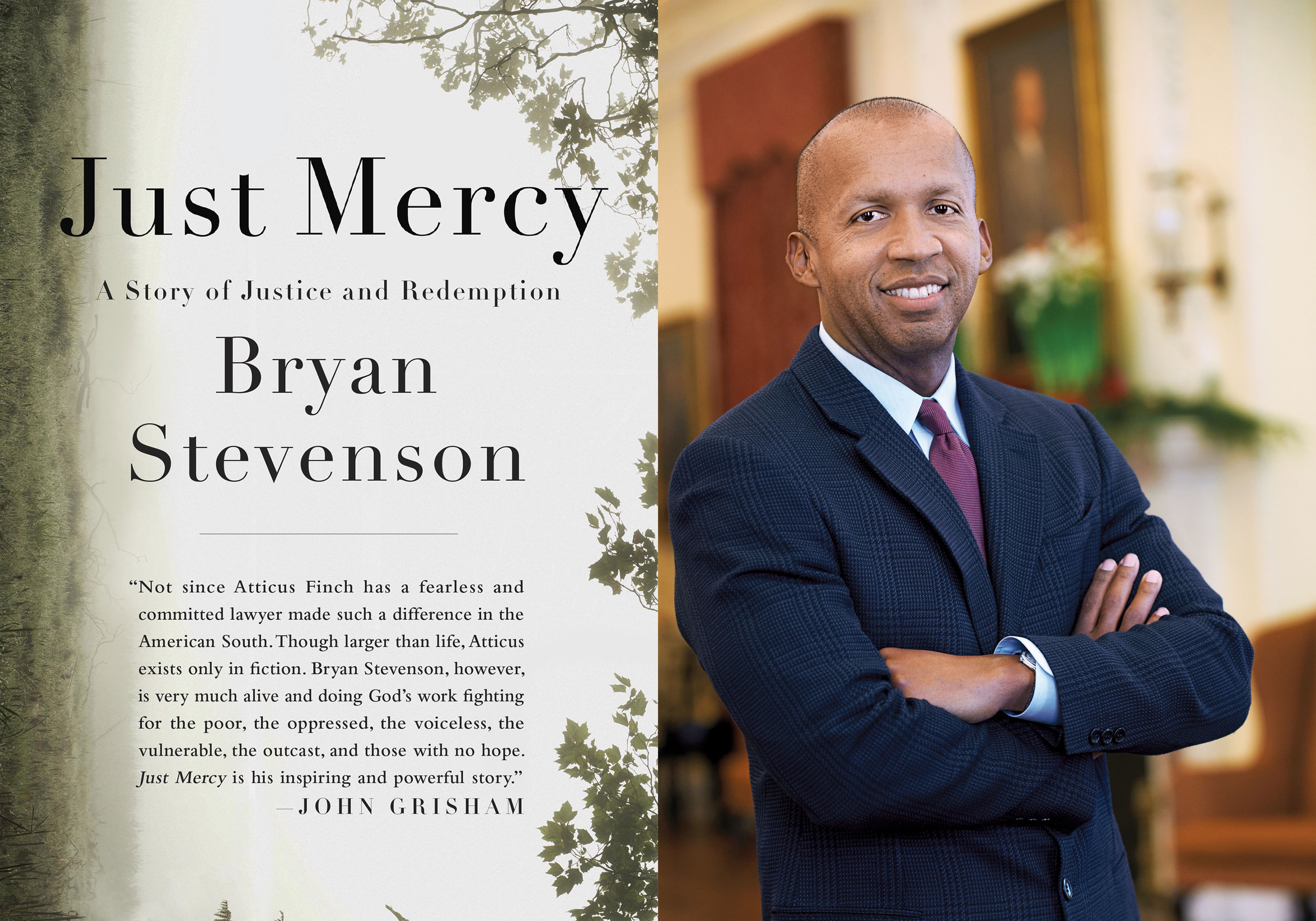 just mercy by bryan stevenson review Bryan stevenson was a young lawyer when he founded the equal justice initiative,  praise for just mercy  the new york review of books.