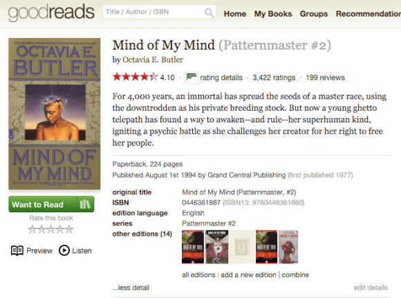 KCP Goodreads
