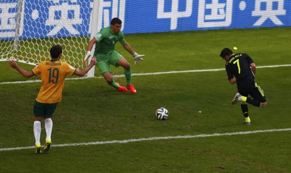 西班牙經典球風再現 3比0擊敗澳洲 - 2014世界盃足球賽 - 自由電子報