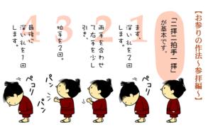 参拝方法2