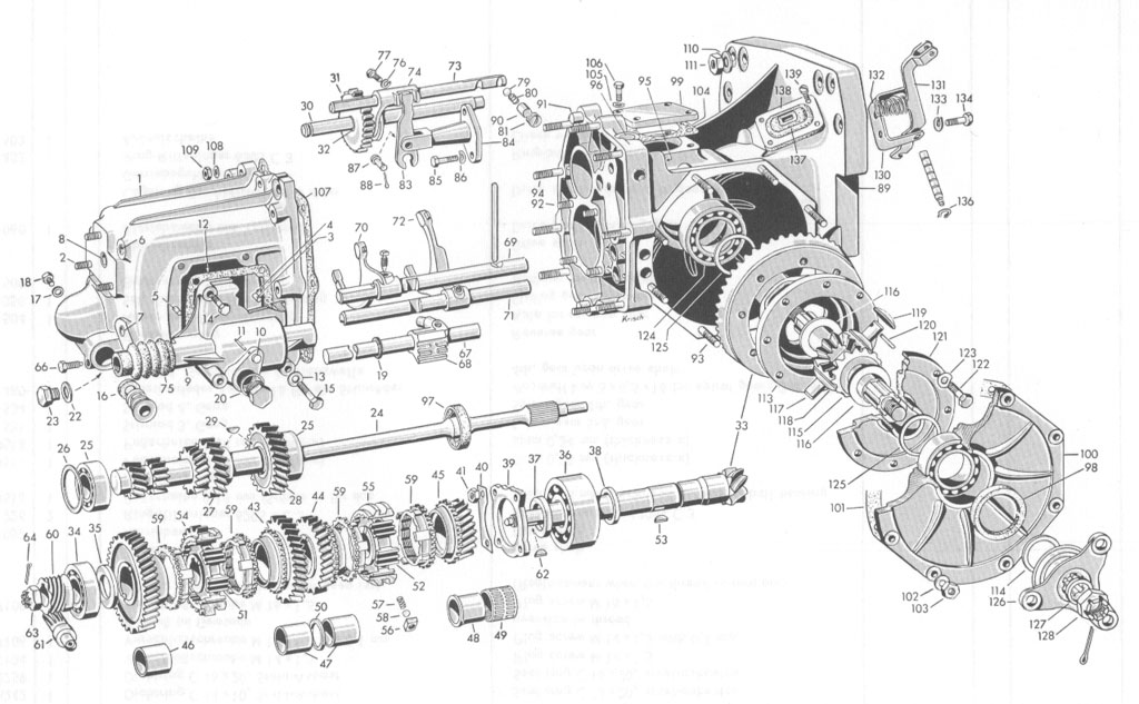 Service manual [Exploded View 1957 Bmw 600 Manual