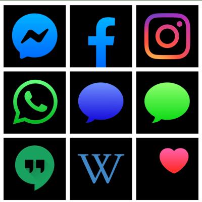 dark mode app icons