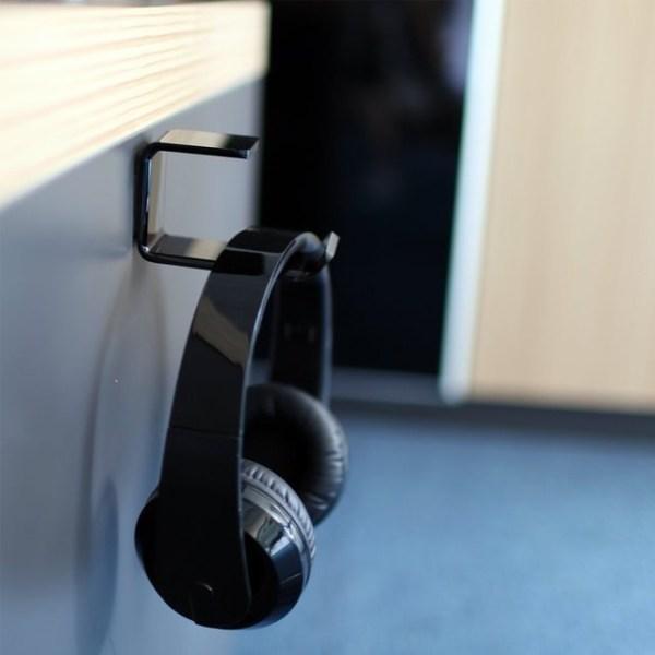minimal headphone hanger