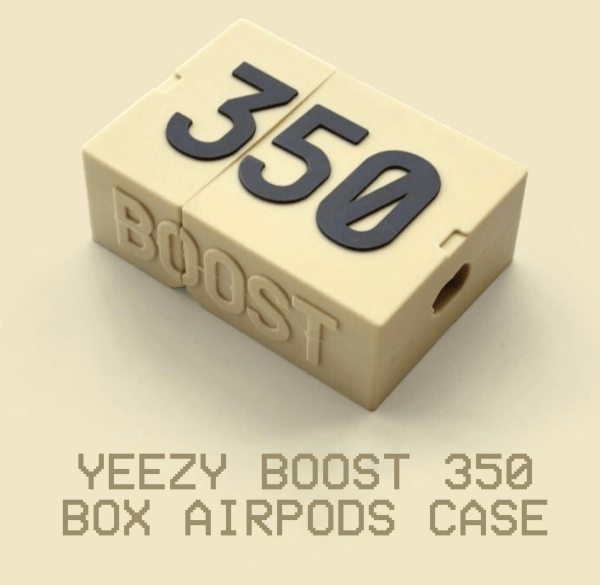 yeezy box airpods case