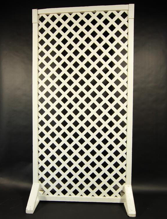 PANEL LATTICE WHITE 4 FOOT X8 FOOT Rentals Portland OR