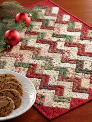 Quilted Christmas Placemat Patterns : quilted, christmas, placemat, patterns, Quilt, Pattern:, Little, Christmas, Placemat
