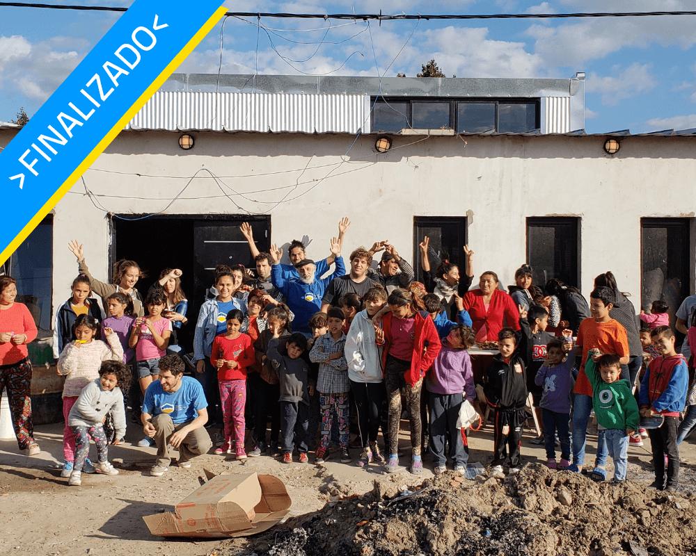 Ampliacin de comedor comunitario en La Plata  Ingeniera