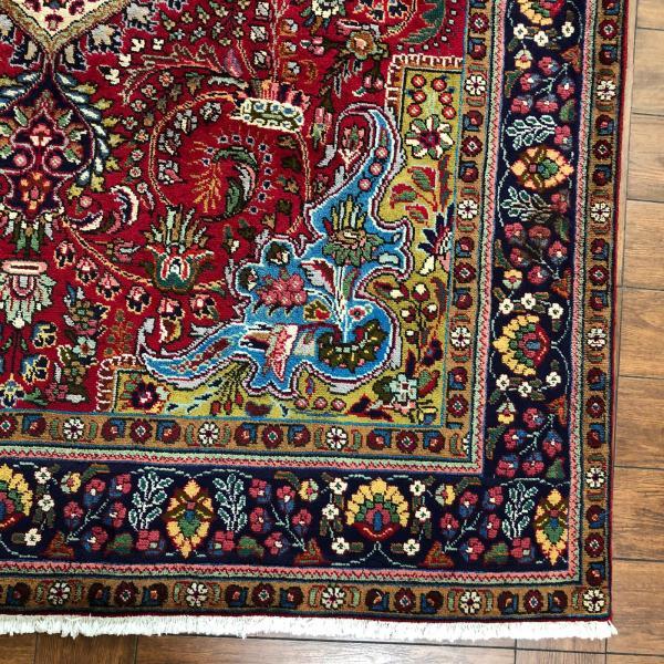 handmade persian carpet red