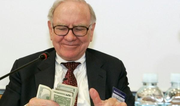 Warren Buffett's current net worth.
