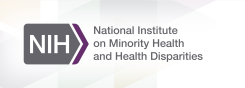 The logo for the National Institute on Minority Health and Health Disparities.