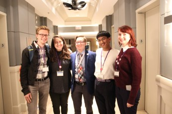 Some of ISGMH's incredible interns.