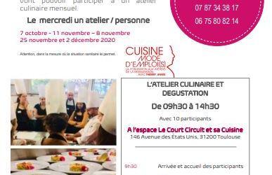 Ateliers culinaires à l'Ecole Mode d'EmploiS  de Thierry Marx.