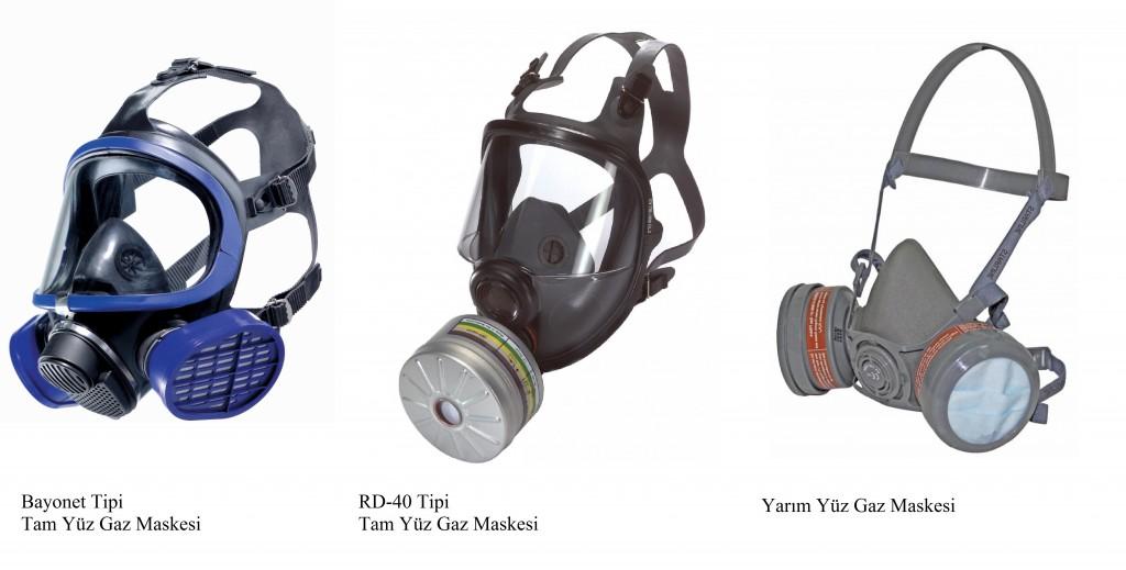 Solunum Koruyucular Maskeler