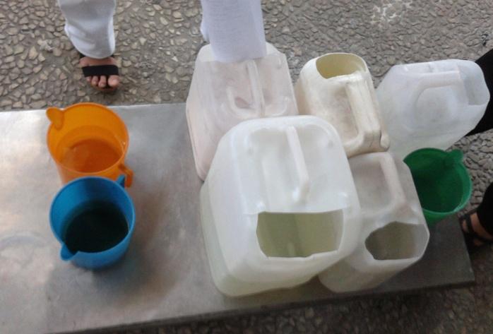 Resim 3: Kimyasalların doldurulduğu ve taşındığı kaplar
