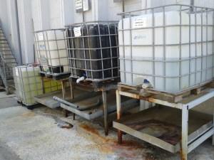 Resim 2: Kimyasalların bulunduğu tanklar
