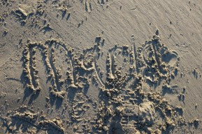 Name in the sand