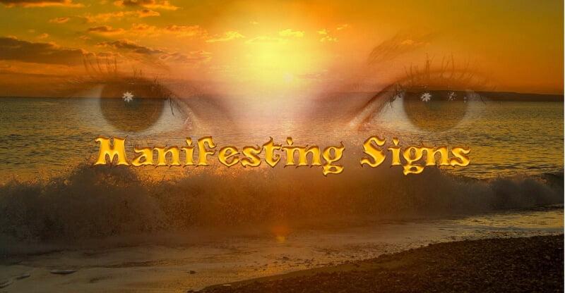 manifesting signs