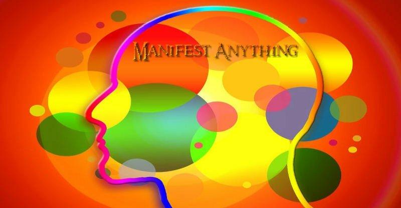 manifest anything