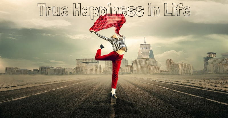 true happiness in life