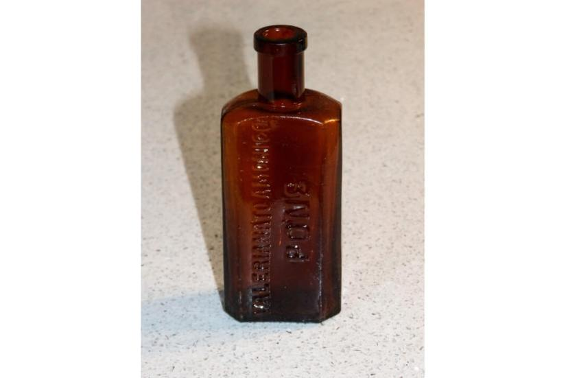 old fashioned medicine bottle