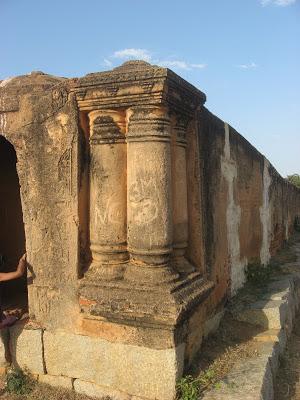 Devanahalli Fort walls