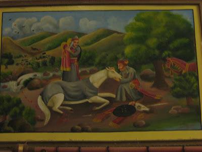 Chetak horse painting