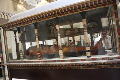 Egyptian Mummy at Albert Hall Museum well maintained