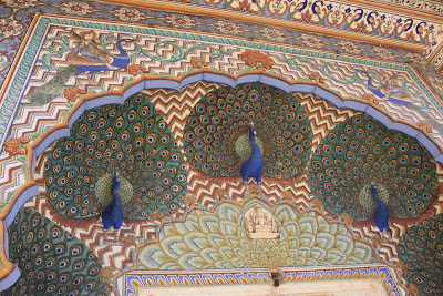 Peacocks in Indian Architecture