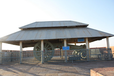 Cannon shed Jaigarh Fort