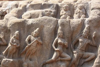 Arjuna's Penance, Mahabalipuram 3