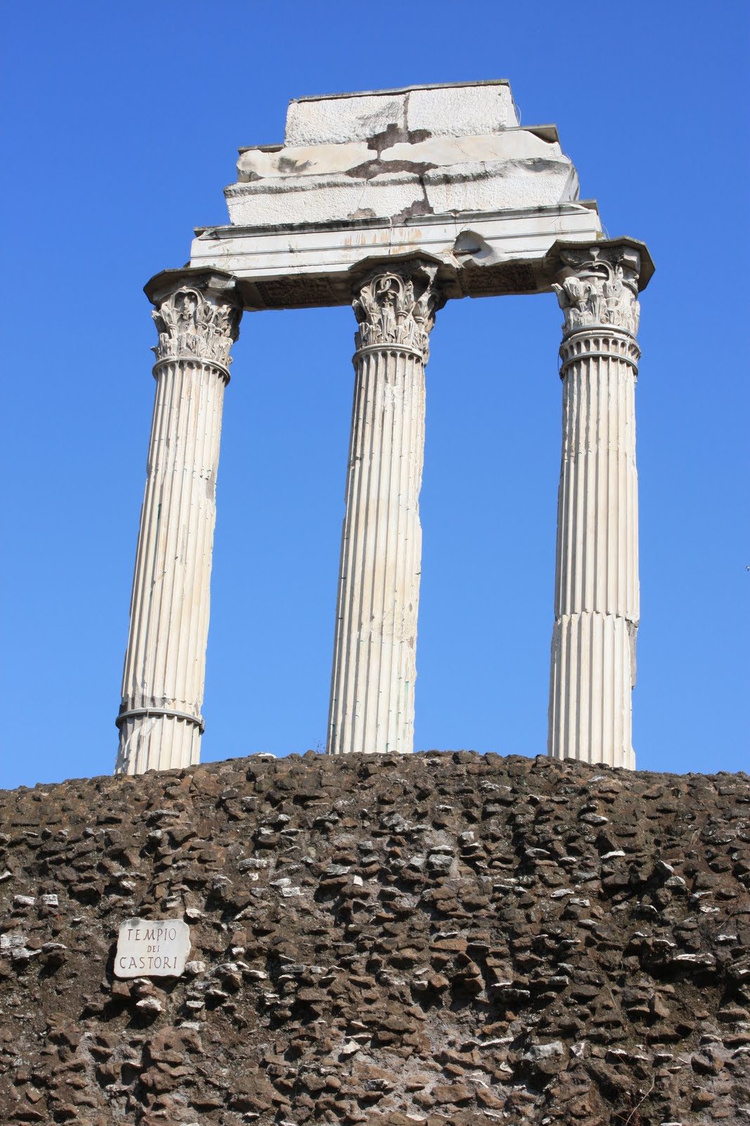 Temple Of Castor And Pollux, Forum, Rome