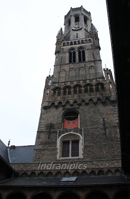 Belfry og Bruges