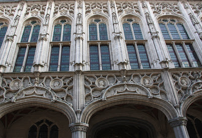 Facade of Mechelen Town Hall