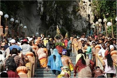 Thaipusam, Hindu Festival In Malaysia
