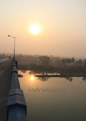 Sunrise Over River Ganges