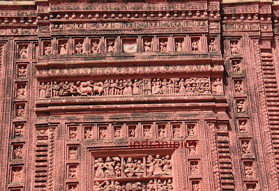terracotta temples from Ilambazar 2