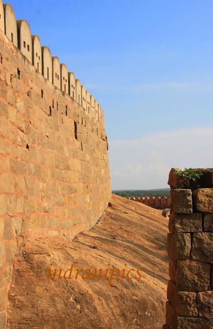 Thirumayam fort karaikudi fort wall skywatch