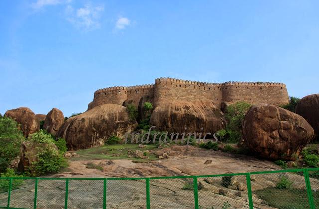 Thirumayam fort karaikudi tamil nadu