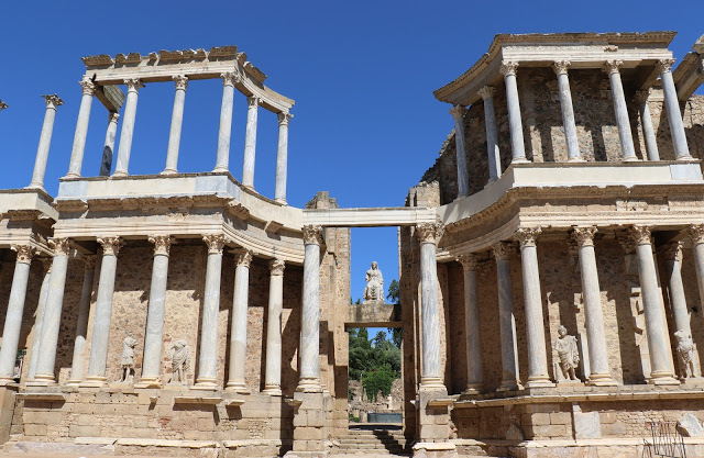 Roman Theater Merida Spain