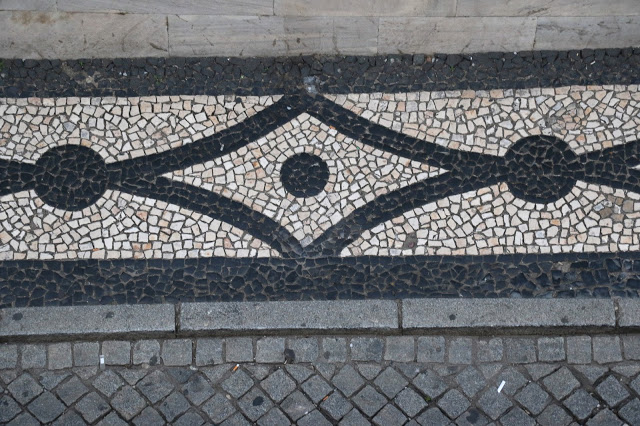 Pavement pattern, Stay in Evora Inn Chiado Design