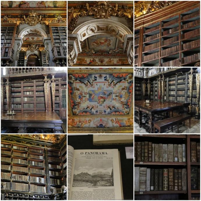 Bibiloteca Joanina Library Coimbra