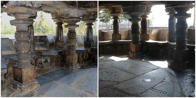 Ishwara temple Mahamantapa Indrani
