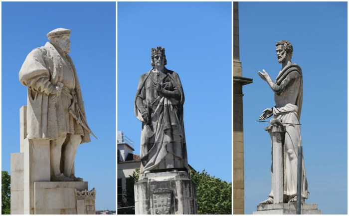 Statues of University of Coimbra